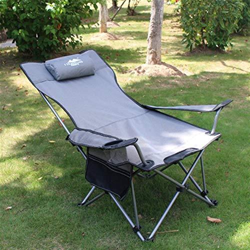 Chaise pliante FANGQIAO Shop Chaise Longue extérieur Pliable Plage Camping pêche Chaise Longue Déjeuner Lit Bureau Chaise Siesta Voyager Chaise de Repos Chaise Portable 7.31