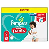 Pampers Baby Dry Couches-culottes, jusqu'à 12 heures
