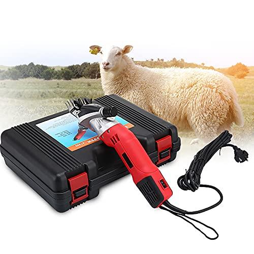 elfshopping Sheep Shears Professional 220v 900w Tijeras Eléctricas Profesionales De Alto Rendimiento, 6 Niveles, Utilizadas para Afeitar Ovejas, Vacas Y Otros Animales De Granja Y Mascotas