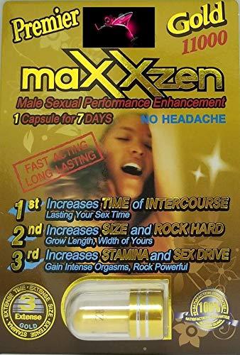 MaxxZEN Premier Gold 11000 9 PILL(And) Procomil Daley Cream (SUPER COMBO) Authentic Dealer PLUS LOVE POTION PEN