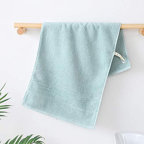 XINDUO Toallas Juego de toallitas Premium,Toalla Absorbente de algodón de Fibra Larga súper Suave 3pcs-Green_34 * 74,Toallas Muy absorbentes y Suaves