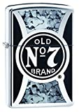 Zippo Jack Daniel's Old No. 7 High Polish Chrome Pocket Lighter