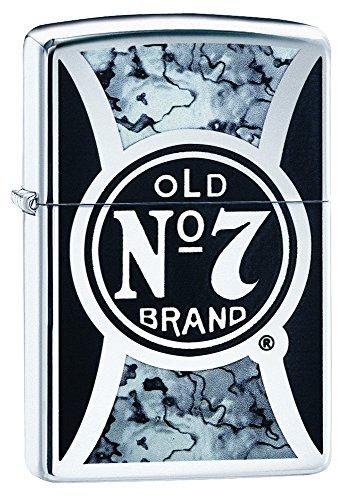 Zippo Zippo 60000463 Boho Feuerzeug, Chrom, Silber, 6 x 4 x 2 cm Silber