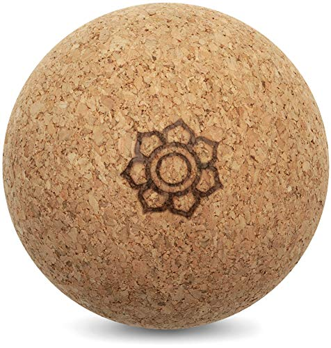 Harmony Ball® Kork Massageball – Hautfreundlich und 100% ökologisches Naturprodukt für Faszien-/Selbstmassage - Made in EU