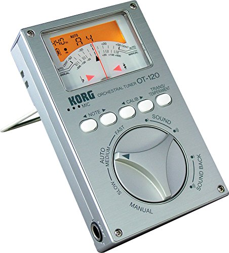 Korg OT-120 Wide 8 Octave Chromatic Orchestral Tuner (japan import)