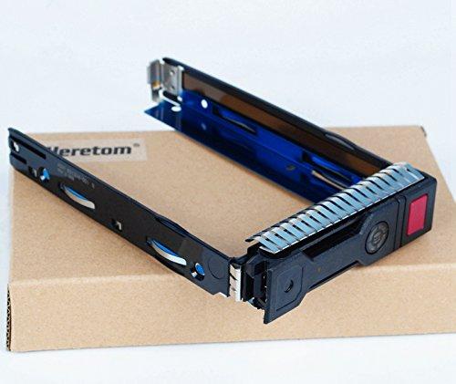 Heretom 3,5-Zoll LFF SAS/SATA HDD TRAY CADDY 651314-001 651320-001 Festplatten Rahmen Für HP ProLiant G8 G9 DL160 DL560/DL385 ML350e ML310e SL250s DL380p DL388 DL360 DL360p