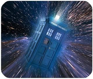 1 X Subrina Sunshine Fashionable Design Doctor Who Tardis Police Box for mouse pad