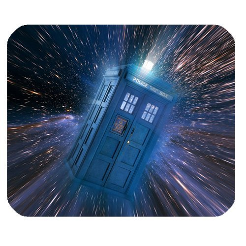 1 X Subrina Sunshine Fashionable Design Doctor Who Tardis Police Box for mouse pad