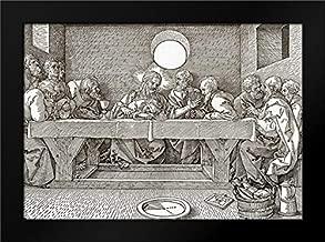 The Last Supper Framed Art Print by Durer, Albrecht