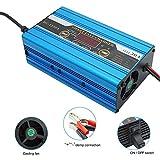 Cargador de Batería Inteligente, Carga Rápida de Ocio de 30 A y 12 V, Pantalla LCD para RV, Barco, Caravana