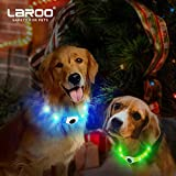 LED Hunde Halsband, LaRooTM Blinkende Leuchtendes LED Sicherheit Halsbänder - 8