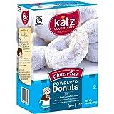 Katz Gluten Free Powdered Donuts | Dairy Free, Nut Free, Soy Free, Gluten Free | Kosher (1 Pack of 6 Donuts, 10.5 Ounce)