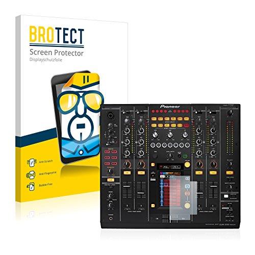 BROTECT Protector Pantalla Compatible con Pioneer DJM 2000 Nexus Protector Transparente (2...
