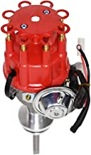 A-Team Performance Complete Ready to Run Distributor Compatible with Chrysler Dodge Mopar Big Block 413 426 440 R2R Two-Wire Installation Red Cap