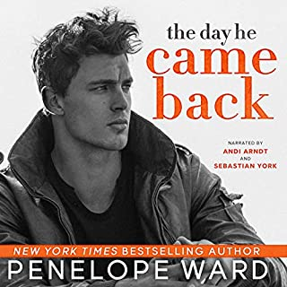 The Day He Came Back audiobook cover art