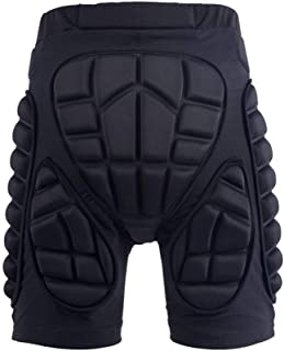 GOHINSTAR Protective Padded Shorts 3D Protection Hip Butt for Ski Skate Cycling Men Women