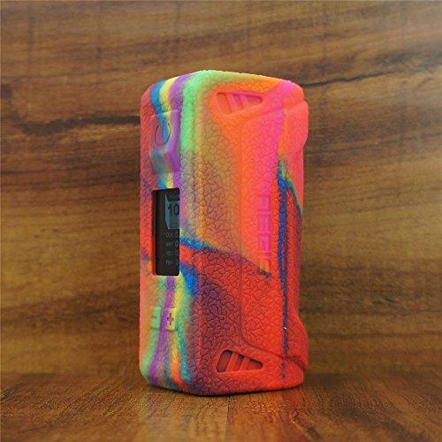 ModShield for Geek Vape Aegis 100W TC Silicone Case ByJojo Cover Shield Wrap Skin (Rainbow)