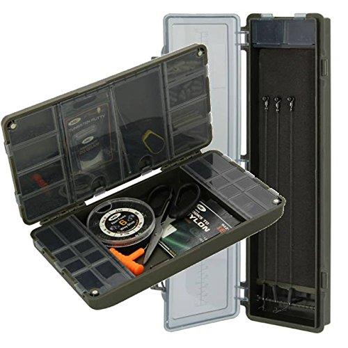 NGT XPR terminal pudełko na sprzęt - system pudełek wędkarskich do zacisków zaciskowych + sztywne etui karp XPR EMPTY