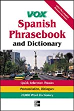 Vox Spanish Phrasebook and Dictionary