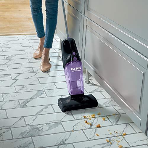 Eureka 95B 2-in-1 Stick & Handheld, Lightweight Rechargeable Cordless Vacuum Cleaner, Purple