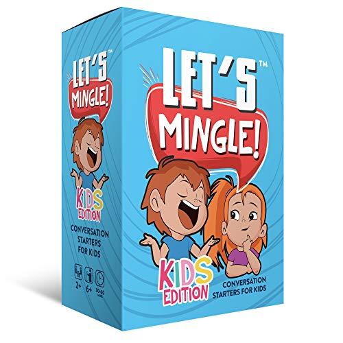 Conversation Cards | Let's Mingle Kids Card Game