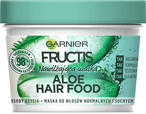 Garnier - Fructis - Mascarilla Capilar Hair food - Aloe Hidratante 390 ml