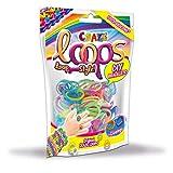 Craze Loops 20692 - 100 anillos de silicona para pulsera, diseño de Mega US-Trend , color/modelo surtido