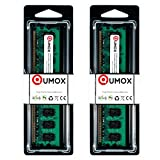 QUMOX 4Go(2x2Go) DDR2 800MHz PC2-6300 PC2-6400 DDR2 800 (240 PIN) DIMM Mémoire pour Ordinateur de Bureau
