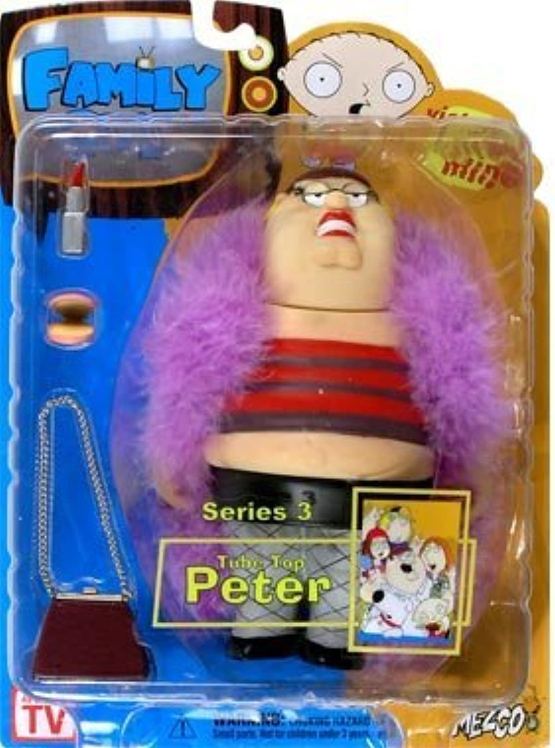 Family Guy Series 3 Figure  Peter by Mezco