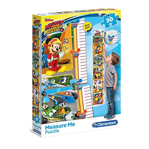 Clementoni Mickey Roadster Racers Meter Puzzle, 30 pezzi, 20321