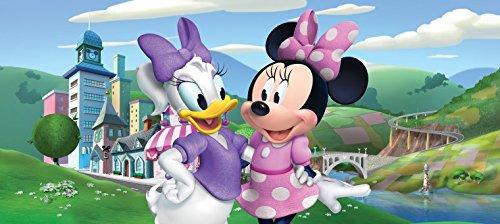 1art1 Minni Maus - Minnie Mouse Fototapete Poster-Tapete 202 x 90 cm