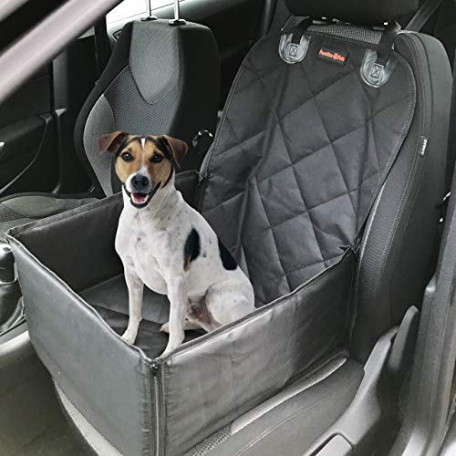 Pawzitive Petz Dog Car Seat Cover, Puppy Car Seat, Free Dog Seat Belt For...
