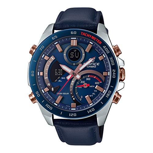 Casio Edifice Bluetooth Chronograph Blue Dial Men's Watch - ECB-900BL-2ADR(EX516)