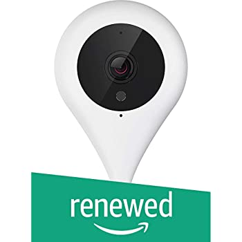 (Renewed) 360 Smart Camera 720p Plus Wireless Mini Security CCTV Home IP Network WIFI Surveillance Indoor Camera with Ultra HD Lens Night Vision