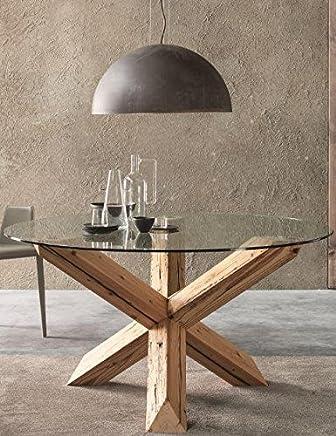 Amazon.it: tavolo vetro - Ovale / Arredamento: Casa e cucina