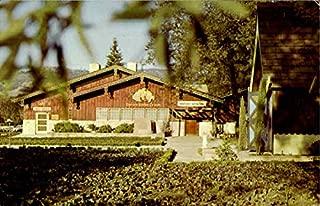 Italian Swiss Colony Wine Tasting Room Italian Swiss Colony, California Original Vintage Postcard