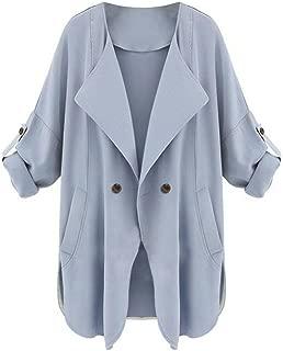 TOPUNDER Womens Autumn Long Sleeve Cardigan Top Coat Jacket