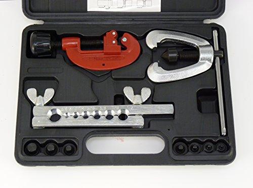 Doppel-Bremsleitungs-Bördelgerät 9-tlg Rohrschneider Handbördelgerät F-E-Bördel