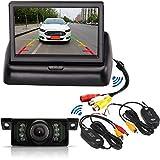 Système de caméra de recul sans fil pour voiture avec 7 LED infra-rouge, étanche,...