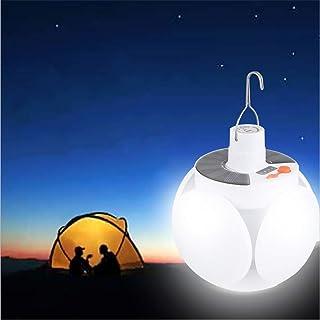 TIUTIU Zonne het Laden Lichten, LEIDENE Super Heldere Gloeilampen, Mobiele Nachtmarkt Stall Lights, Outdoor Noodverlichtin...