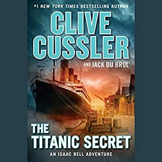 The Titanic Secret audiobook cover art