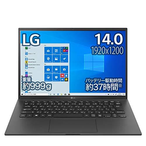 LG ノートパソコン gram 999g/バッテリー最大37時間/Core i5/14インチ WUXGA(1920×1200)/メモリ 8GB/SSD 512GB/Thunderbolt4/ブラック/14Z90P-KA55J (2021年モデル)/Amazon.co.jp限定【Windows 11 無料アップグレード対応】; セール価格: ¥139,300