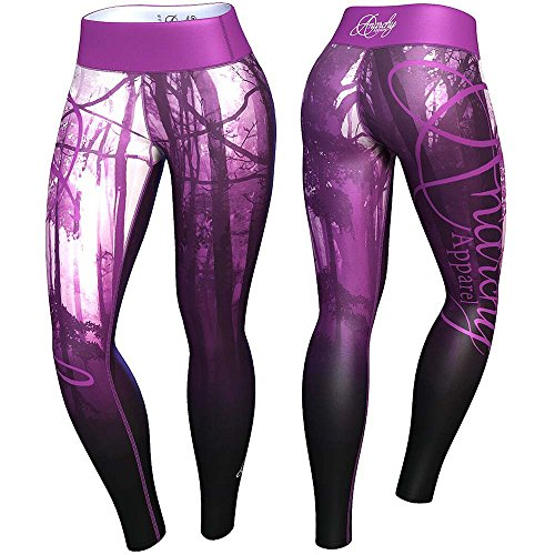 Anarchy Apparel Leggings, Mist, Fitness Gym Aerobic Hosen Pants Compression Größe XL