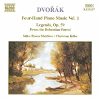 Dvorak: 4 Hand Piano Music Vol. 1 by Silke-Thora Matthies (1996-11-19)