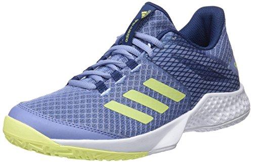 adidas adidas Damen Adizero Club Fitnessschuhe, Blau (Azutiz/Seamhe/Indnob 000), 38 EU