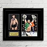 Conor McGregor Signed Autographed Photo Mat Custom Framed 11 x 14 Replica Reprint Rp