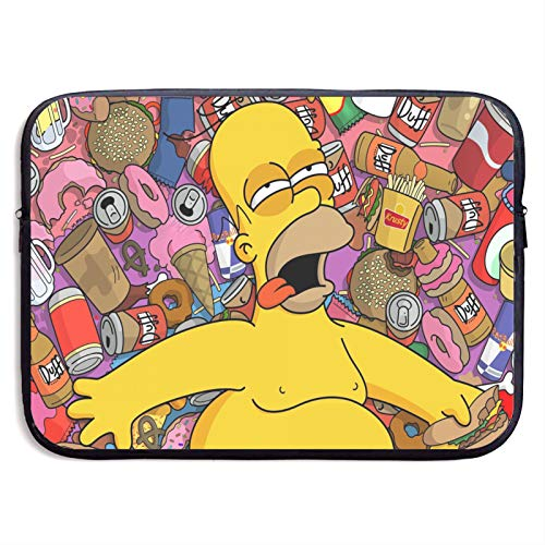 S_Impsons Laptop Sleeve Bag 13 inch Computer Case Tablet Briefcase Ultra Portable Protective