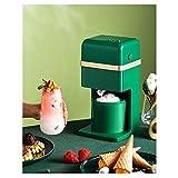 ZJZ Heladera eléctrica, pequeña máquina automática de Helados para niños, Mini máquina de Hielo doméstica para Cocina casera
