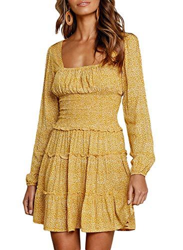CANIKAT Womens V Neck Sleeveless Long Dress Adjustable Tie Shoulder Waistband Belted Summer Party Dresses