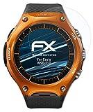 atFoliX Schutzfolie kompatibel mit Casio WSD-F10 Folie, ultraklare FX Bildschirmschutzfolie (3X)